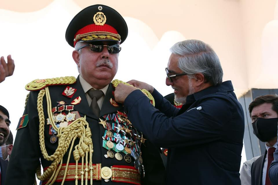Afghanistan News Today: Abdul Rashid Dostum was given the rank of Marshal in a grand ceremony